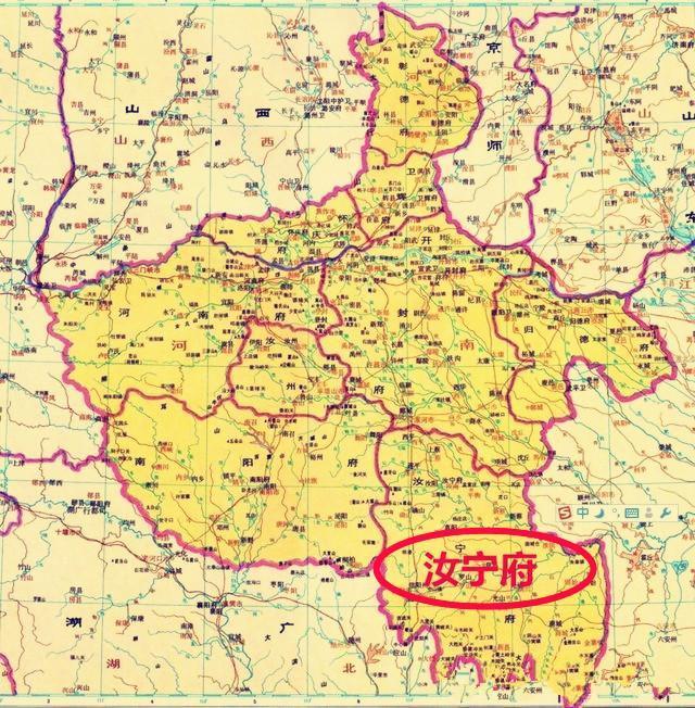 信阳学院周边地图