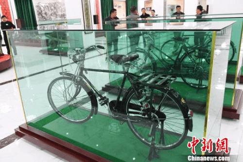 兰州建自行车博物馆:汇聚200年来古董自行车千余辆