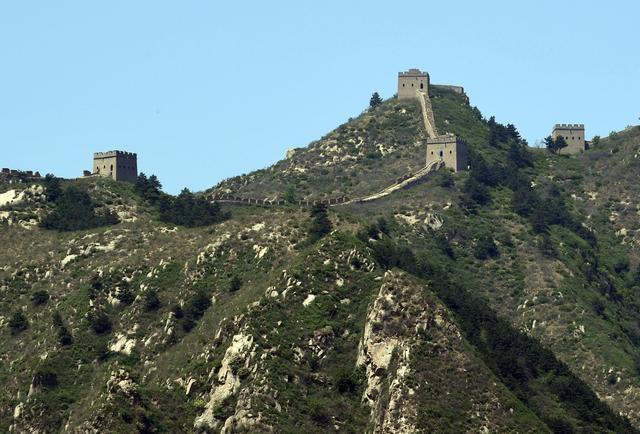 这个县有最完整的明长城之一 青山似海 边墙如龙