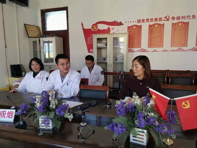 潢川县医院真情帮扶乡镇卫生院 将提供医疗技术等支持