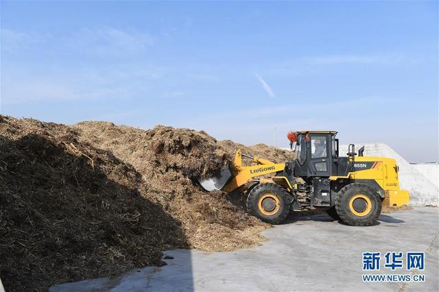 山西原平:秸秆高效利用 化解污染难题