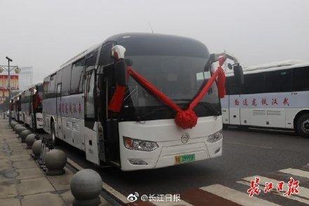 全国首批氢燃料电池通勤客车在汉交付 ,加氢3分钟最多可跑500公里