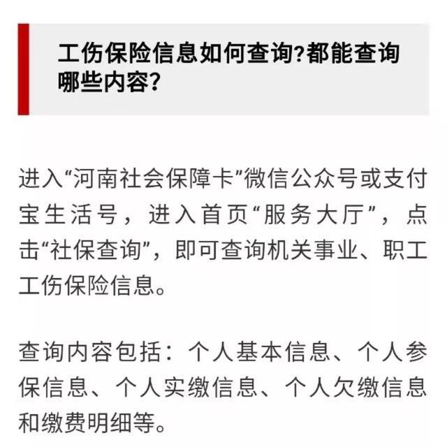 @所有人,河南社保线上自助查询服务来了