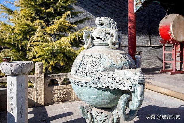 山西长子县:下霍村重修安乐寺,寺址扩大四倍,占地四千平方米