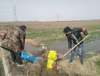 """""""确保农民春灌顺利""""临渭区抗疫情保生产"""