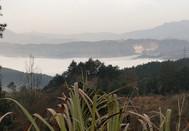 大美浒山湖,秀丽陆河村