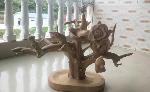 继光镇民间手工雕刻达人手工系列之:万物共生