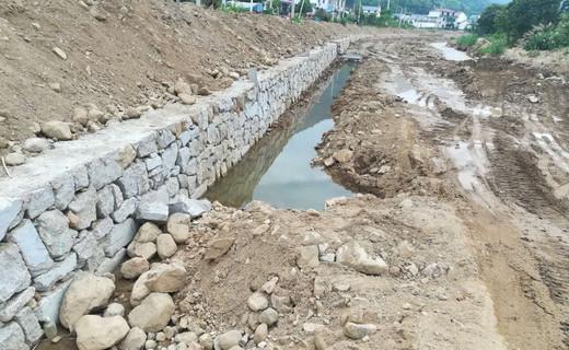 昆仑村大河综合治理工程:第一段即将竣工