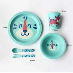 竹纤维儿童餐具  宝宝安全健康小碗  29.9包邮