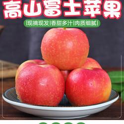 现摘苹果水果10斤带箱包邮应季新鲜水果整箱批发陕西红富士