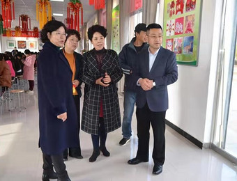 庆阳市妇联调研桐川镇基层妇女组织建设