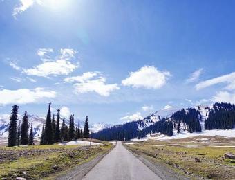 冬天,我想去新疆