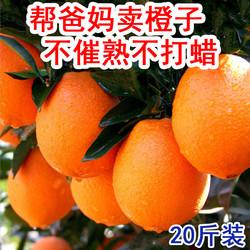 重庆奉节脐橙大果新鲜20斤包邮纽荷尔