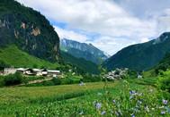 云南迪庆:香格里拉尼汝村