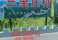 三里庄村第一书记在疫情防控第一线