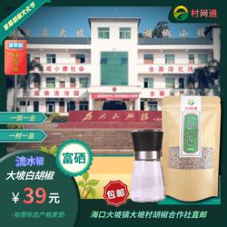 海南大坡白胡椒120g 首个ID送研磨瓶 地理标志产品