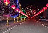 上寨村夜景好看吗?