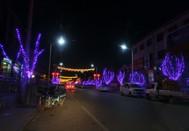 上寨镇夜色