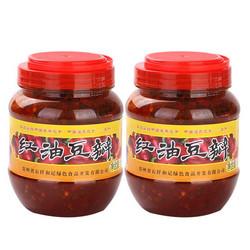 【调味酱】 石阡县和记佛顶山红油豆瓣酱500g